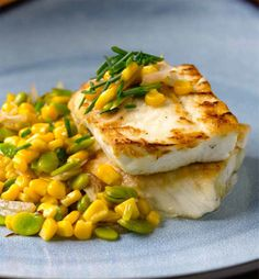 #Healthy #Recipe: Pan-Roasted Halibut