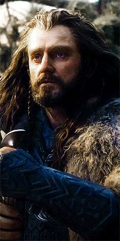 Richard as Thorin Oakenshield in The Hobbit movies (gif)