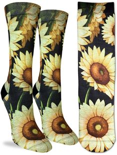 Clothes socks Sunflower Painting Patterned Stylish Beach Towels Frottiertücher