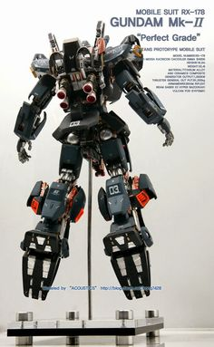 GUNDAM GUY: PG 1/60 RX-178 Gundam Mk-II 'Open Hatch' - Custom Build
