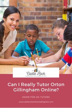 The answer is YES! I have been tutoring online since I know you are stressed, miss your students and just feel overwhelmed. I can help! Learning To Write, Kids Learning, Tutoring Business, Reading Tutoring, Rock Online, Gillingham, Struggling Readers, Online Tutoring, Castle Rock