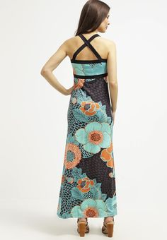 Women Dresses King Louie MAUI - Maxi dress - earth,king louie button dress online,king louis xiv dress,premium selection, king louie wear Free and Fast Shipping