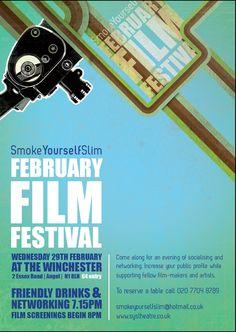 Now into their successful film festival. Smoke Yourself Slim theatre company rocks Public Profile, Film Festival, Filmmaking, A Table, Theatre, Rocks, Slim, Smoke, Cinema