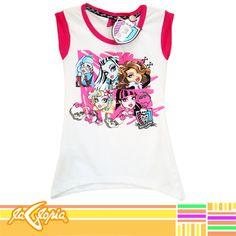 #Camisetas de excelente calidad para sentirse divina y #monstruosa 3er.Piso #Niñas