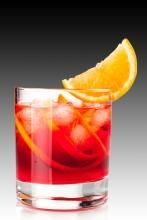 Negroni  1 part Anno Gin  1 part sweet red vermouth  1 part Campari  Stir components together with ice.  Serve on the rocks in a short glass with an orange twist garnish and fresh orange on the side.