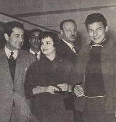 احمد رمزي، شادية، وفريد اﻻطرش.