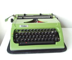 Working Typewriter Erika Robotron Mod 153 with by MerilinsRetro