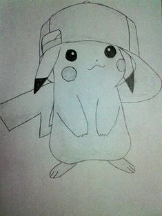 Imagini pentru desene in creion anime Easy Cartoon Drawings, Art Drawings, Pikachu, Pokemon, Simple Cartoon, Word Formation, Disney, Artist, Cute