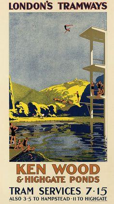 Ken Wood & Highgate Ponds _______________________________ London Tramways