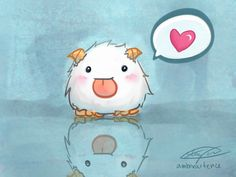 Poros are so cute and fluffy I really want one <3