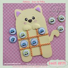 Doce Arte by Pati Guerrato Kids Crafts, Summer Crafts, Felt Crafts, Diy And Crafts, Paper Crafts, Operation Christmas Child, Diy Xmas Gifts, Cute Gifts, Sewing Crafts