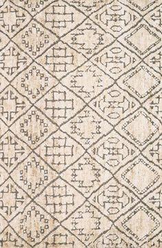 Loloi 'Sahara' Wool & Jute Rug available at Motifs Textiles, Jute Rug, Cushion Fabric, Home Rugs, Minimalist Decor, Minimalist Interior, Hand Knotted Rugs, Floor Rugs, E Design