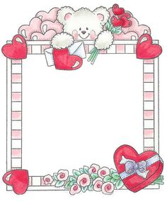 Varios - Lizeth Gamboa - Álbuns da web do Picasa.For my Valentines Heart! Scrapbook Frames, Baby Scrapbook, Word Art, Boarders And Frames, Cute Frames, Borders For Paper, Frame Clipart, Paper Tags, Valentine Heart