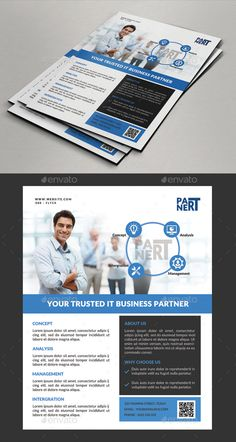 Corporate Business Flyer #bundle #blue  • Download here → https://graphicriver.net/item/corporate-business-flyer/17454037?ref=pxcr