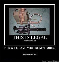 gun memes | Funny Zombies vs Guns