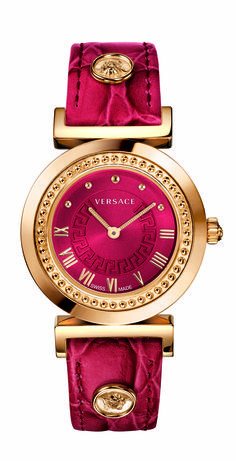 The Versace Vanity Watch. #VersaceWatches #Versace