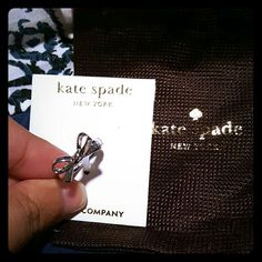 NEW Kate Spade Ring Super cute! NEW! Comes w/dust bag. ASK FOR DISCOUNTED SHIPPING. kate spade Jewelry Rings
