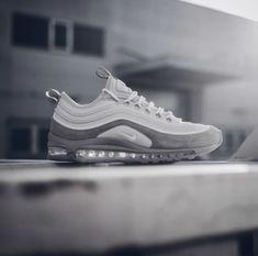 "61dd6d2f4671 Nike Air Max 97 - Pure Platinum""Follow WATKICKS for more dope."