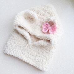 Капюшон #инстадети #инстамама #капор #крючком #капорсушами #капюшон #шапка #шапкакрючком #шапкасушками #хобби #весна #вязание #вязаниекрючком #рукоделие #ручнаяработа #люблювязать #дети #длядетей #спб #crochet #handmade #crocheting #vsco #vscocam Knitting For Kids, Crochet Baby, Knitted Hats, Crochet Cap, Long Scarf, Caps Hats, Patrones, Needlework, Photos