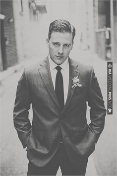 super stylie groom - love him | CHECK OUT MORE IDEAS AT WEDDINGPINS.NET | #bridesmaids