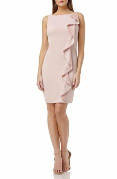 Find and compare Carmen Marc Valvo Infusion Ruffle Crepe Cocktail Dress across the world's largest fashion stores! Carmen Marc Valvo, Junior Outfits, Nordstrom Dresses, Plus Size Outfits, Casual, Peplum Dress, Cool Outfits, Cocktails, Gowns