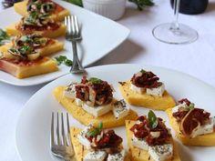Grilowana polenta po śródziemnomorsku - 2 smaki