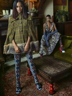 """""""Fall Collections"""" by Sophy Holland for Harper's Bazaar Kazakhstan August 2016 - Prada"""