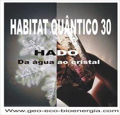 "GEO-ARCHITECTURE & ECO-BIOENERGIA ''Medicina do Habitat / Eco-Bioenergia"": HABITAT QUÂNTICO 30 ""HADO da água ao cristal"""