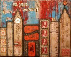 my collage art ~ nancy lefko: October 2008