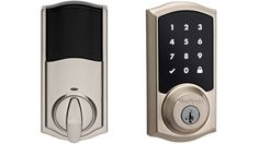 Apple HomeKit enabled Kwikset SmartCode 916 Touchscreen Electronic Deadbolt with Z-Wave
