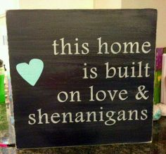 Without the heart. I'd do a horizontal above the door :)