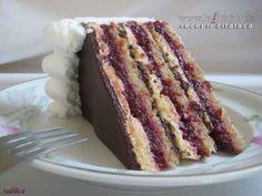 Kapri torta by radilica Torte Recepti, Kolaci I Torte, Torte Cake, Croatian Recipes, Food Obsession, Special Recipes, Homemade Cakes, Cake Cookies, No Bake Cake