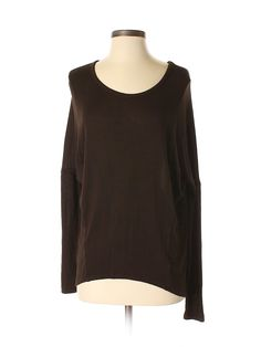 7755203eba8cf7 XCVI Long Sleeve Top  Size 0.00 Brown Women s Tops - New With Tags -  17.99