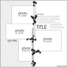 Turn into a 2 page layout by rotating 45 degrees with exact same paper.  Cool use of bottons and ribbons and 12X6 paper on each page!  Other: MSC~25DaySketchExtravaganzaDAY17!