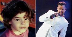 Ricky Martin relembra infância e mostra foto de quando tinha quatro anos