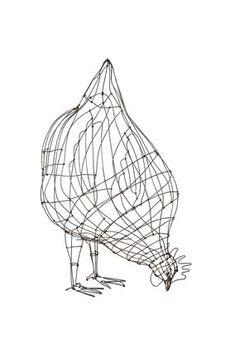 Chicken Wire Art, Chicken Wire Sculpture, Chicken Wire Crafts, Wire Art Sculpture, Abstract Sculpture, Wire Sculptures, Bronze Sculpture, Sculptures Sur Fil, Metalarte