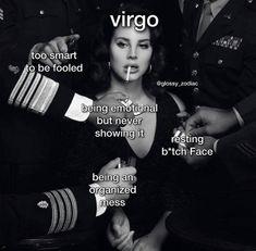 Libra And Pisces, Scorpio Zodiac Facts, Virgo Moon, Virgo Horoscope, Zodiac Signs Astrology, Virgo Girl, Pisces Woman, Virgo Memes, Virgo Quotes