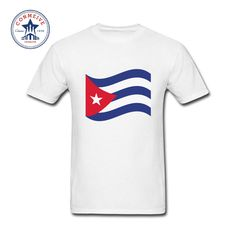 2017 New Arrive Funny CUBA Flag  Funny T Shirt for men. Yesterday's price: US $16.00 (13.22 EUR). Today's price: US $12.16 (10.07 EUR). Discount: 24%.