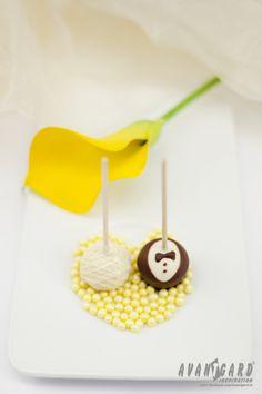 Svatební lízátka - nevěsta a ženich - svatební inspirace   ///   Wedding lollipops - bride and groom - wedding inspiration