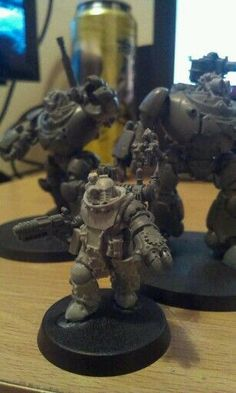 True Pro Conversion: Warhammer 30k Immortals Fact: It is unknown if the Mechanicus have Staches. They do have Bolters. They probably have Bolter Staches if they do, the deadliest Stache there is! Warhammer 30k Space Marine and Adeptus Mechanicus http://true-grit-wargaming.blogspot.com/search?updated-max=2015-09-10T00:17:00-07:00
