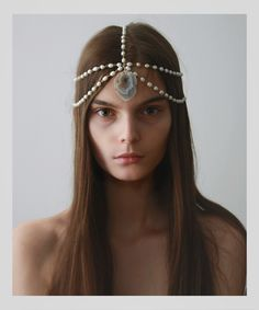 DIY inspiration from pearl headpieces