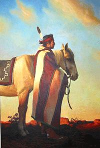 """""""Prized Possessions"""" by Allen Bahe(Navajo)"""