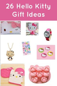 26 Hello Kitty Gift Ideas :: Christmas Gift Gideas
