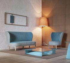Spring sofa, designed by Ellen Bernhardt & Paola Vella for Potocco