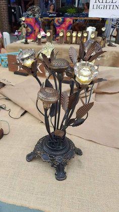 Bountiful bouquet of historic doorknobs - crystal doorknobs light, metal doorknobs from late 1800's