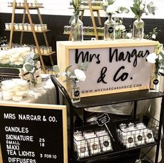 and their gorgeous stall, how cute is that sign? Support Local Business, Market Stalls, Soy Wax Candles, Camden, Bourbon, Tea Lights, Diffuser, Sydney, Vanilla