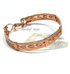 Men's Copper Single Lattice Bracelet