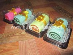 Souvenir Pernikahan Ulang Tahun Unik Murah Handuk Towel Cake