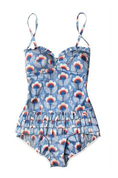 I love this floral one piece! #SMIRNOFFsorbet #GuiltlessPleasure