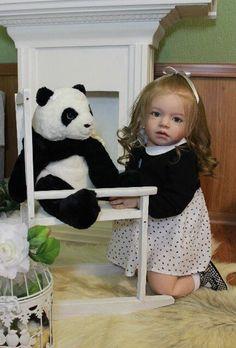 Reborn Toddler Girl Doll